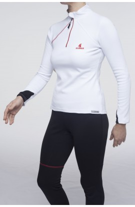 Maillot Femme Thermorégulateur NICKY blanc Akammak